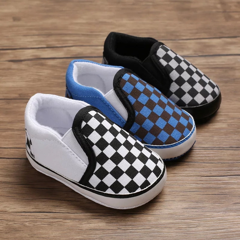 Checkered Slip Ons (3 Colours)