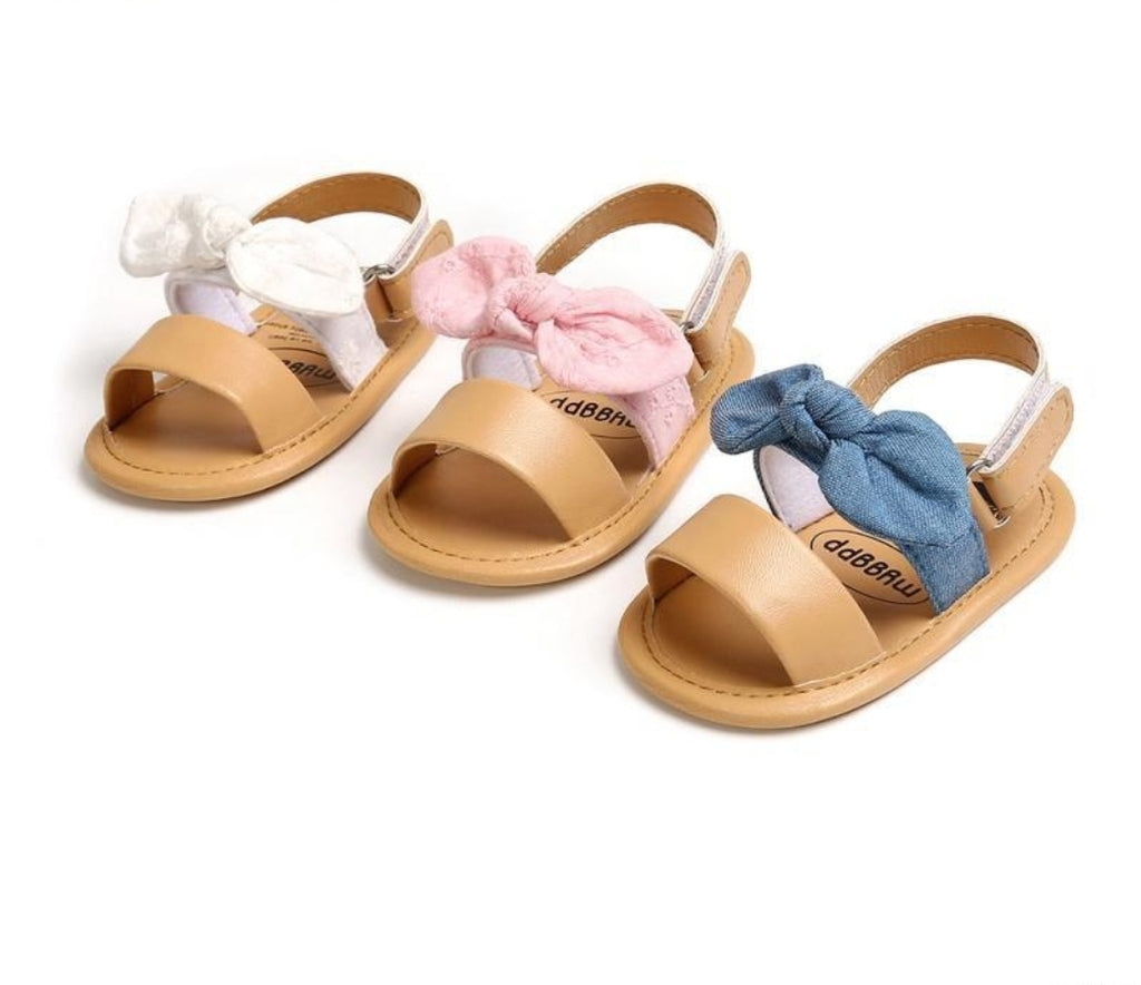 Bow Sandals (3 Colours)