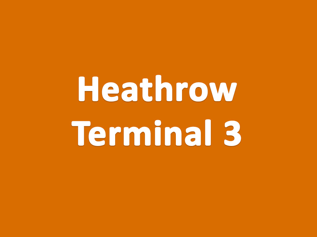 Heathrow Terminal 3