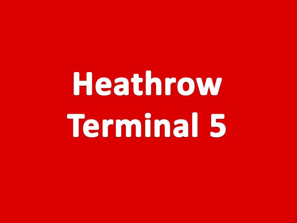 terminal 5 heathrow