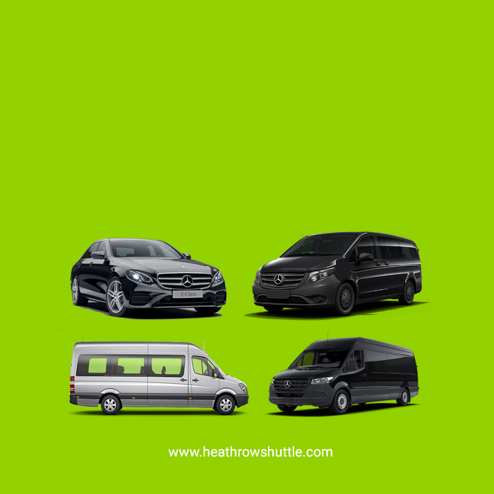 Heathrow Airport Taxi Transfers, Heathrow Airport Minibus Transfers