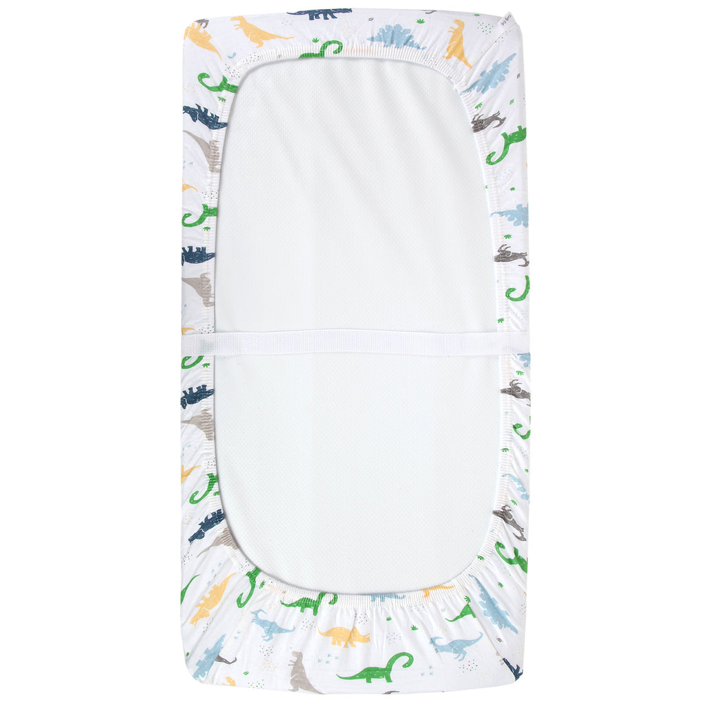 Cotton Jersey Changing Pad Covers – Dinosaurs