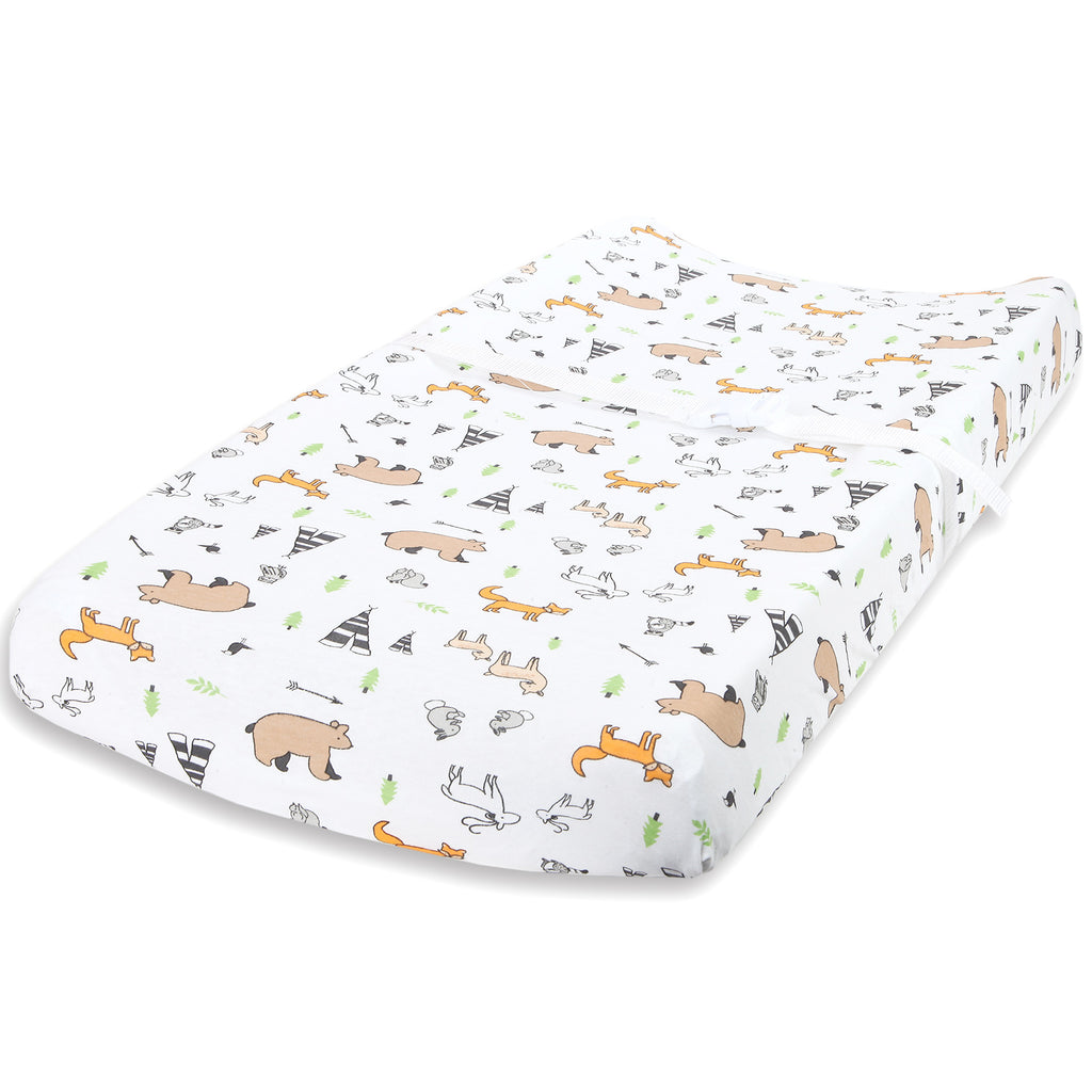 Cotton Jersey Changing Pad Covers – Woodlands