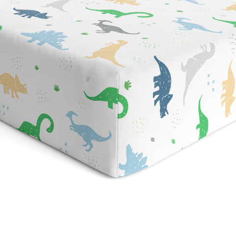 Crib Sheet - Dinosaur