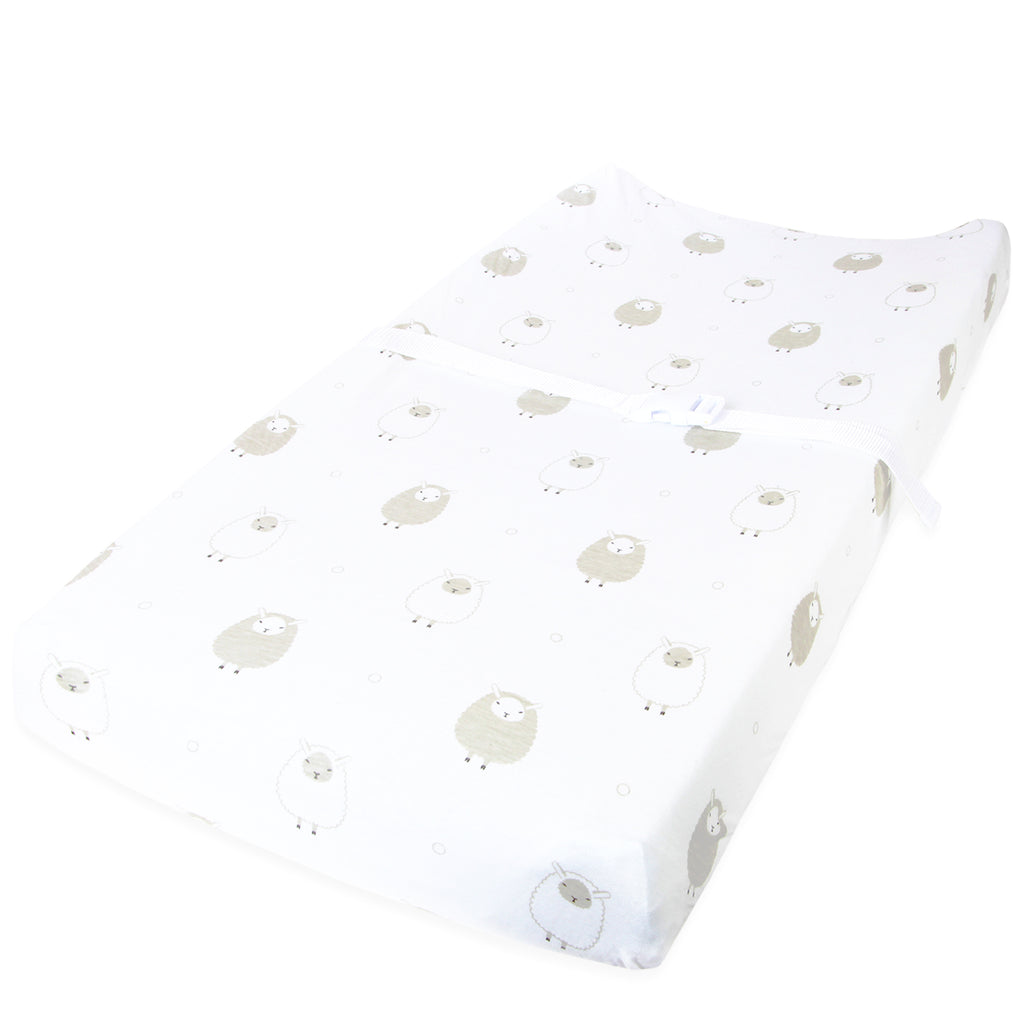 Cuddly Cubs Changing Pad Covers – 2 Pack – Snuggly Soft Plush Cotton Changing Table Covers for Boy, Girl – Fits Perfectly on Summer Infant and Other 16 x 32