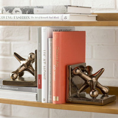 Beth Kushnick Jack Bookends