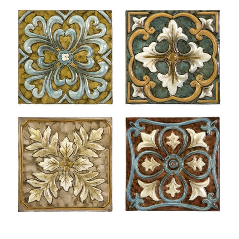 Casa Medallion Wall Tiles Set
