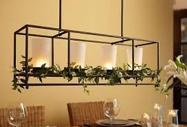 Framework Chandelier and Centerpiece