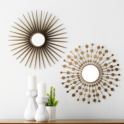 Harper Sunburst Mirrors Set