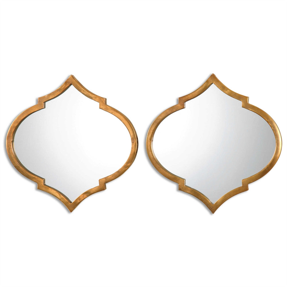 Jebel Wall Mirrors, Set of 2