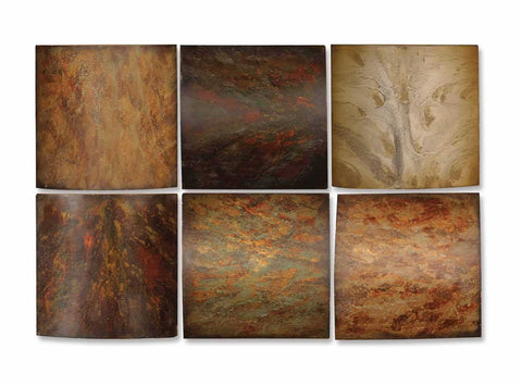 Colours Of The Earth, Set of 6