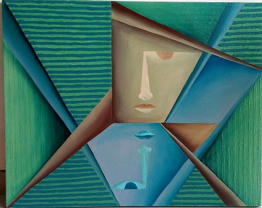GEOMETRIC ABSTRACT (III), VANDANA SONEJI
