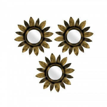 Vincent Sunflower Mirrors Set