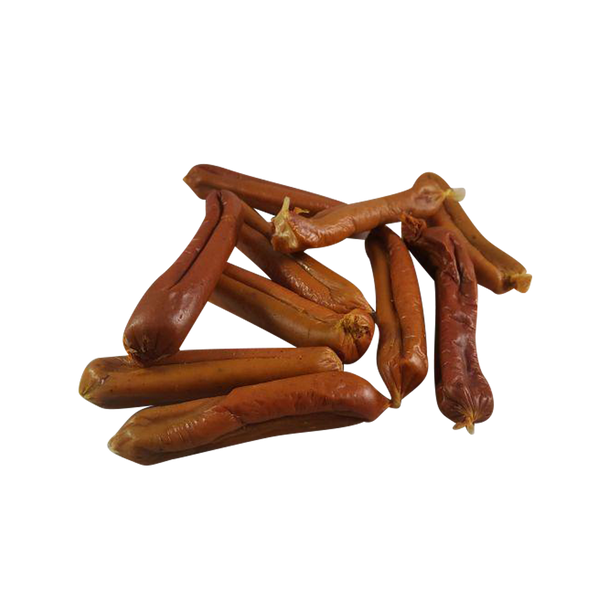 Chicken, Potato & Golden Paste Sausages - Distinctive Pets