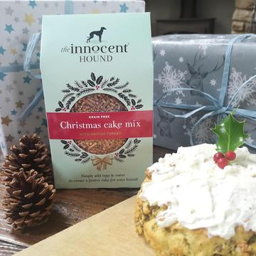 Innocent Hound Christmas Cake Mix for Dogs - Distinctive Pets