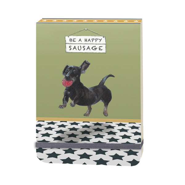 The Little Dog Laughed Notebook - Distinctive Pets