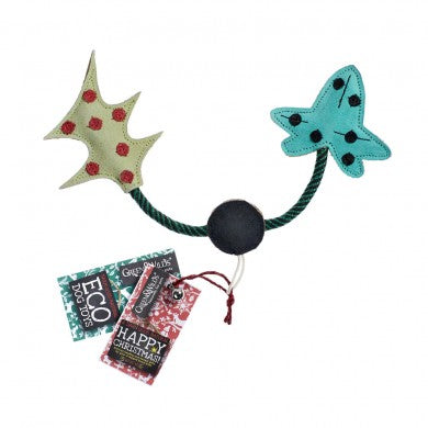 Green & Wilds Holly & Ivy Eco Toy - Distinctive Pets