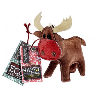 Green & Wild's Rudy the Reindeer Eco Toy - Distinctive Pets