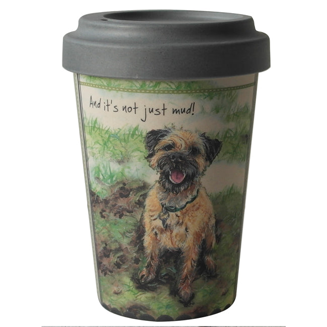 The Little Dog Laughed Bamboo Travel Mug - Distinctive Pets
