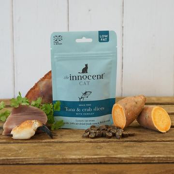 Innocent Hound Tuna & Crab Slices for Cats - Distinctive Pets