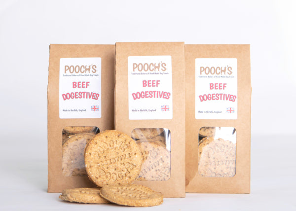 Pooch's Roast Beef Dogestives - Distinctive Pets