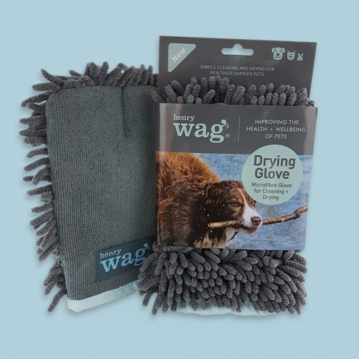 Henry Wag Microfibre Cleaning Glove - Distinctive Pets