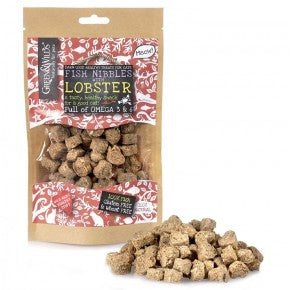 Green & Wilds Fish Nibbles for Lobster for Cats - Distinctive Pets