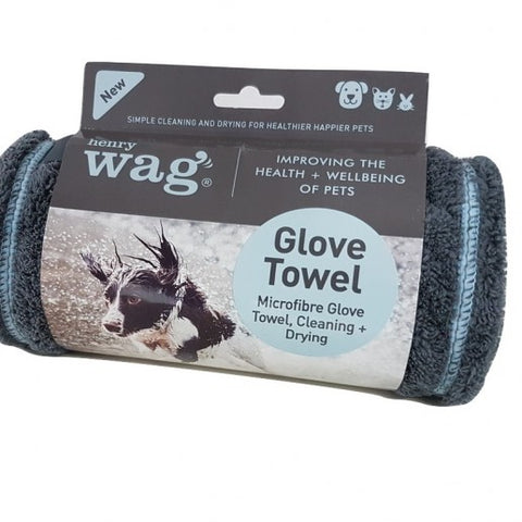 Henry Wag Pet Noodle Glove Towel - Distinctive Pets