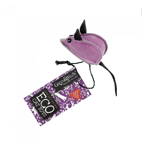 Green & Wilds Midge the Mouse - Eco Cat Toy - Distinctive Pets