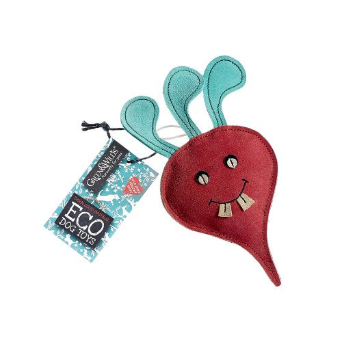 Green & Wilds Terry the Turnip - Eco Dog Toy - Distinctive Pets
