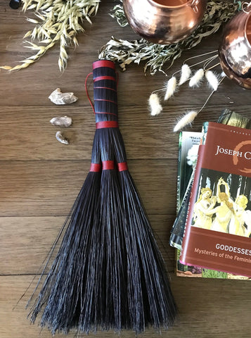 LARGE- Brick Dust Triple Goddess Whisk