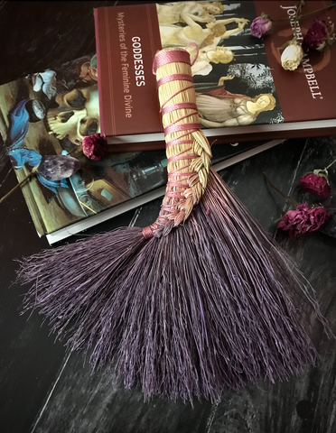 Braided Turkey Wing - Lavender