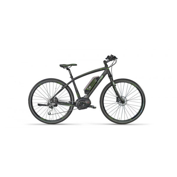 "Lombardo - E-Amanatea Electric Hybrid Road Bike, 16.5"" frame, Men's Bike, Anthracite - EBike Catalog"