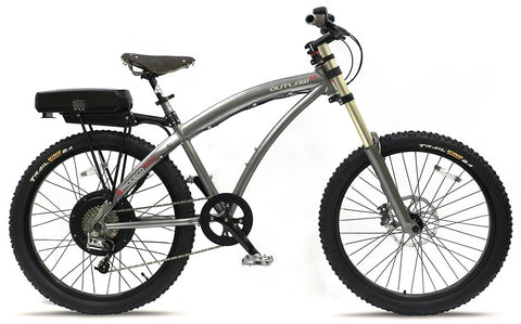 ProdecoTech Outlaw EX - Alu Frame 28 MPH 48v 750W Electric Mountain Bike w/ Samsung battery