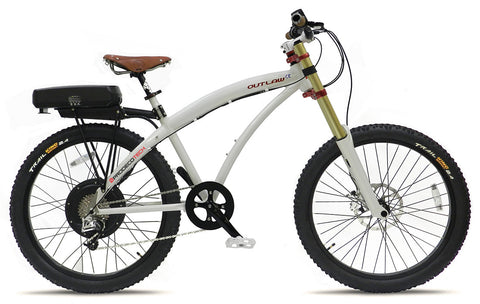 ProdecoTech Outlaw SE - 28 MPH 48v 750W Electric Mountain Bicycle w/ Samsung Battery
