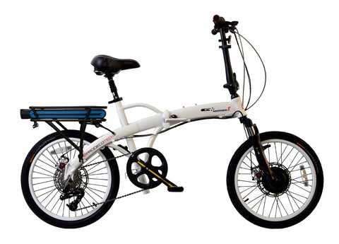 ProdecoTech Mariner 8 v5 36V 300W 8 Speed Folding Electric Bicycle