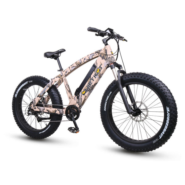 Quietkat Fatkat Ranger 750 Watts Mountain Electric Bike