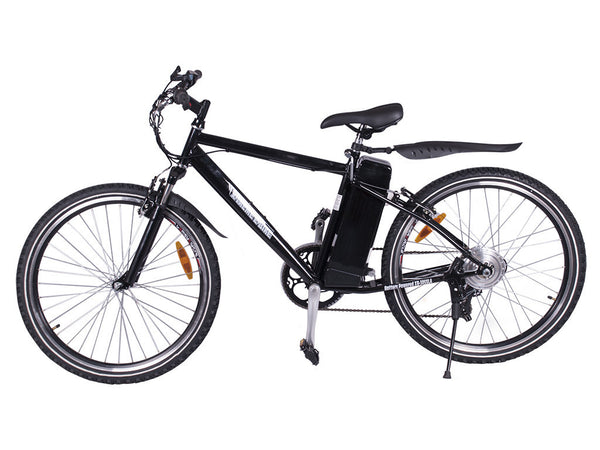 X-Treme - Alpine Trails Electric Bike - Affordable Pedal Assist/Twist Throttle Mountain Bike - EBike Catalog - 1