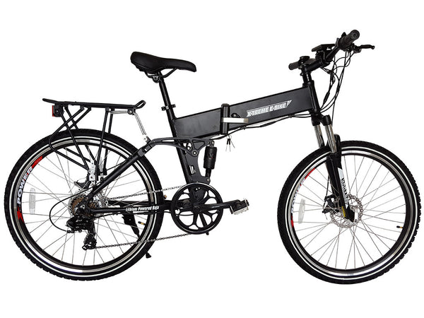 X-Treme Baja 48V Lithium Powered Folding Mountain Electric Bike