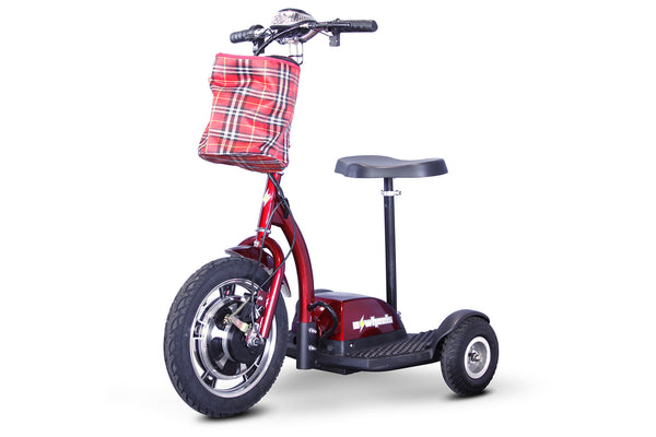 EWheels - EW-18 Stand-N-Ride - Electric 3 Wheel Bike / Trike