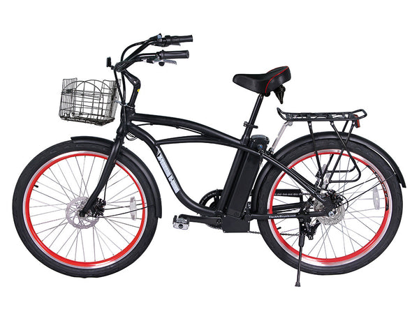 X-Treme Newport Lithium Powered Beach Cruiser Electric Bike