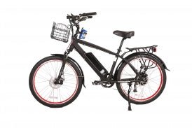 X-Treme - Santa Beach Cruiser 48 Volt High Power Long Range Electric Beach Cruiser Bicycle