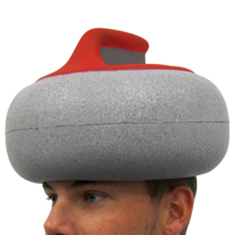 Curling Canada Stone Foam Hat Gift Set