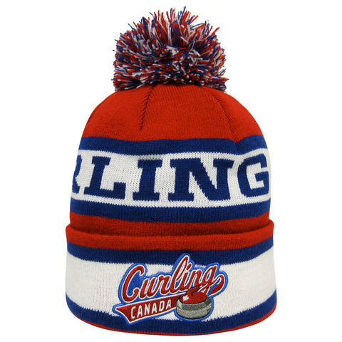 Curling Canada Knit Toque