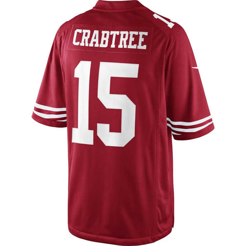 NFL San Francisco 49ers Nike Limited Jersey - Crabtree