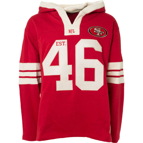 NFL San Francisco 49ers Old Time Football All Pro Hoody