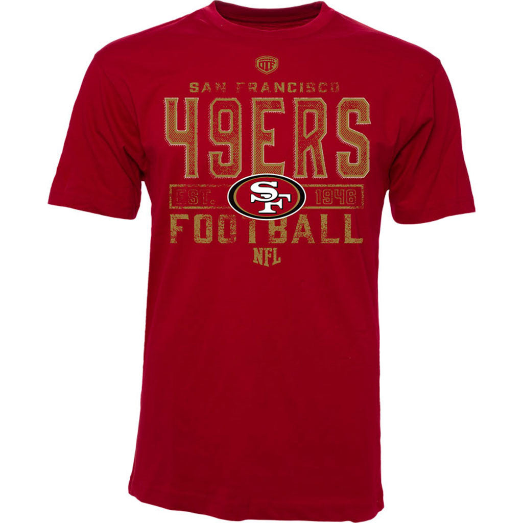 NFL San Francisco 49ers Old Time Football Stunt T-Shirt