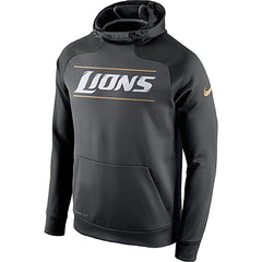 NFL Detroit Lions Nike Championship Drive Pullover Fleece Hoodie