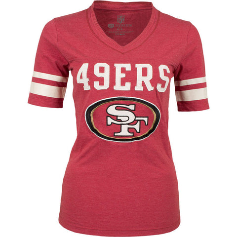 NFL San Francisco 49ers Old Time Football Womens Cheer Jersey