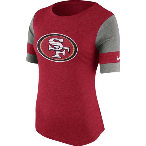 NFL San Francisco 49ers Nike Women's Stadium Fan Top